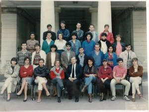 Classe de Khâgnes 1985/86  Lycée Condorcet Paris - Photo Lily et ses livres