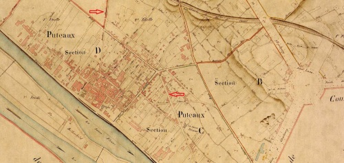 Cadastre Puteaux 1855 (archives 92)