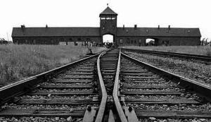 Entrée d'Auschwitz-Birkenau