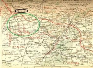Bataille du Matz juin 1918