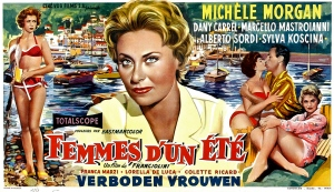 A l'affiche en 1958