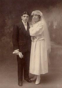 Mariage Adrienne Louis 1921