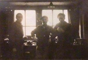 Atelier d'ajustage en 1945 au Mail