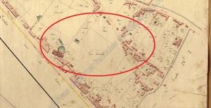 Faubourg de la Magdeleine en 1809