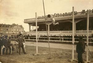 Journées sportives 1921 stade Bessonneau Archives municipales Angers