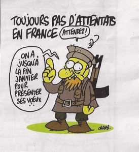 Charb. - Charlie Hebdo du 7 janvier 2015