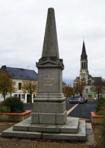 Monument des douze braves à Nueil-sur-Layon