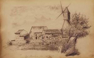 Dessin de 1881 d'Henri Duguet