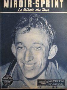 La vainqueur à Angers en 1954 : le belge Alfred de Bruyne (1930-1994)