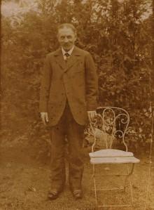 Joseph Pierre Cailletreau (1859-1946) dans les années 20.