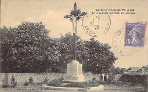 monument aux morts du Lion-d'Angers cimetière