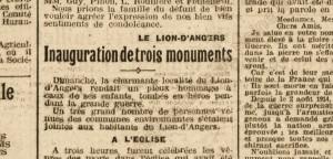 Le Petit Courrier - 11 et 12 juillet 1921