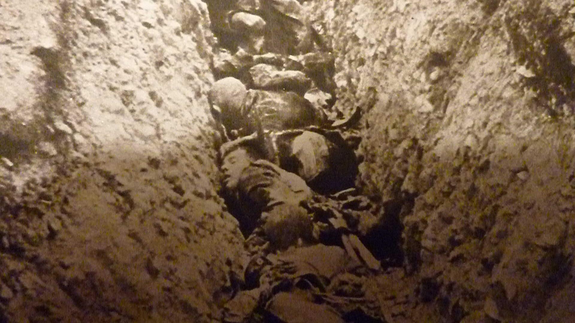 Un soldat jamais disparu sur le front de l artois 30 for Miroir dans la boue