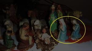 Les deux vierges et l'enfant