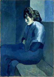 La mélancolie Picasso - Illustration suggérée par Alain Biau