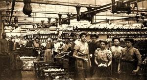 ouvrieres de filature en 1900