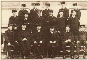élèves-maîtres- école normale Orléans 19ième siècle - Source Wikipédia