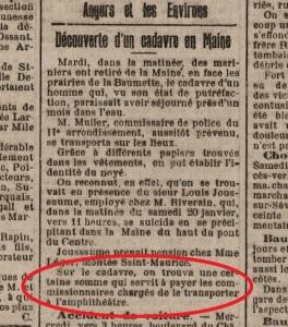 Le Petit Courrier du 1er mars 1906