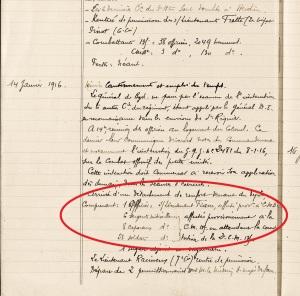 14 janvier 1916 Alexis Turbelier