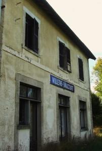 Gare de Villers-Daucourt aujourd'hui