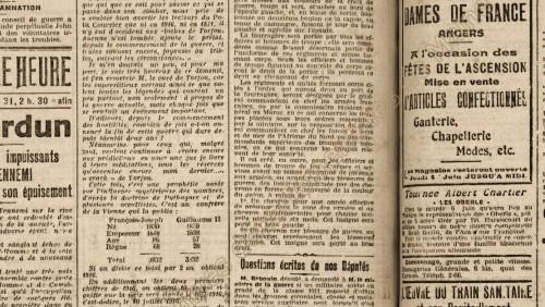 Le Petit Courrier 31 mai 1916