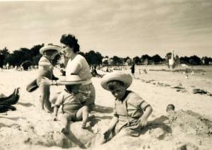 Le Pouliguen été 1954