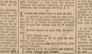 Petit Courrier d'Angers - 31 décembre 1916.