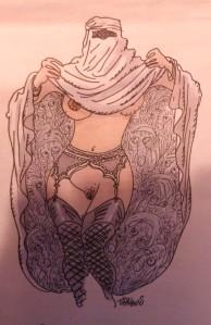 Tignous - la femme musulmane qu'on aime